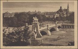 AK München Wittelsbachbrücke Mit Blick Auf Giesing, MÜNCHEN Dürerjahr 8.7.28 - Non Classés