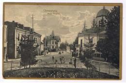 Romania 1924 Campulung Piata Regala - Roumanie