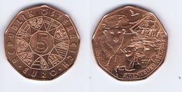 Austria - 5 Euro Commemorativo 2014 - Regione Artica - Austria
