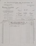 33 3025 GENSAC GIRONDE 1925 Manufacture Chaussures Galoches RAYMOND AUZERIE Succ O. ESCURIER Sabot Savoyard A VALADIE - Francia