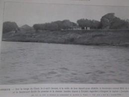 1910 Les Evenements De OUADAI  Tchad   Colonel LARGEAU  BRULE  MOLL ET RUPIED  ABECHE DRIJELE - Vieux Papiers