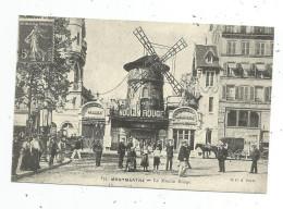 Reproduction De Cpa , 75 , PARIS , Le MOULIN ROUGE - France