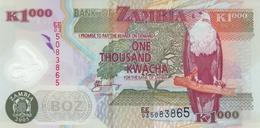 ZAMBIA 1000 KWACHA 2005 P-44d UNC [ZM146d] - Zambie