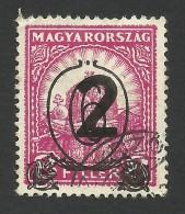 Hungary,  2 F. On 6 F. On 8 F. 1932, Sc # 466, Mi # 488Y, Used. - Hungary