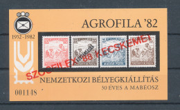 1988. SZOCFILEX Commemorative Sheet :) - Commemorative Sheets