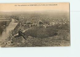 LEMPDES : Vue Générale Et Vallée De L'Allagnon. 2 Scans. Edition Borel - Sonstige Gemeinden