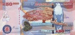 ZAMBIA 50000 KWACHA 2008 P-48d UNC [ZM150d] - Zambia