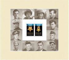 VERINIGTE STAATEN USA 2016 WORLD WAR II MEDAL OF HONOR FOREVER STAMP SHEET Nº 20 - Blocks & Kleinbögen