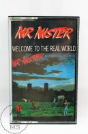 Vintage 1980´s Music Cassette - Mr. Mister: Welcome To The Real World - Spanish Edition RCA Records - Audio Tapes