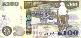 ZAMBIA 100 KWACHA 2014 P-54c UNC [ZM157c] - Zambia