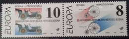 Bosnia And Hercegovina, HP Mostar, 1994, Mi: 17-18 (MNH) - Bosnia Erzegovina