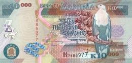 ZAMBIA 10000 KWACHA 2003 P-46a UNC RARE [ZM148a] - Zambia
