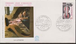 MB 3606) Frankreich 1979 Mi# 2186 FDC: Geigenbau: Violinoncello, La Lutherie (Geige Violine Cello) - Musik