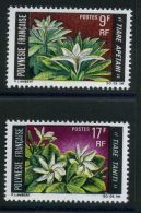 POLYNESIE  ( POSTE )  :  Y&T N°  64/65  TIMBRE  NEUF  SANS  TRACE  DE  CHARNIERE , A  VOIR . - Polynésie Française