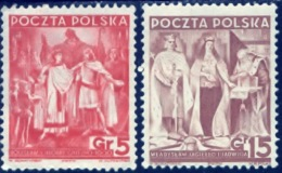 Polen 1938, Poland, Polska, Pologne, SG 336, 338, YT 400, 403, Mi 331, 333, MNH