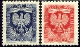 Polen 1954, Poland, Polska, Pologne, SG O871, O872, YT 28, 29, MNH