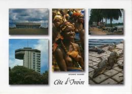 Ivory Coast,mosaic Postcard - Côte-d'Ivoire