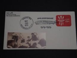 ETATS UNIS - ZEPPELINS - Entier Postal En 1979 Avec Cachet Souvenir De Zeppelin  - A Voir - L 676 - Zeppelins