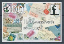 2005/52. 300th PROFILA Quick Auction 1992-2005 Commemorative Sheet :) - Commemorative Sheets