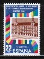 EUROPEAN IDEAS 1980 KSZE OSCE ES MI 2482 SPAIN - Europese Gedachte