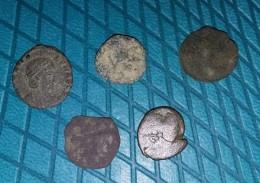 Lot 2 De Nummus, Minimis - 4. Andere Romeinse Munten