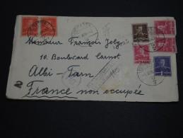 ROUMANIE - Enveloppe En Recommandée Pour La France En 1942  - A Voir - L 692 - 2. Weltkrieg (Briefe)