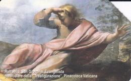 TARJETA DE CIUDAD DEL VATICANO DE RAFFAELLO, SAN GIOVANNI EVANGELISTA (PINTURA-PAINTING)