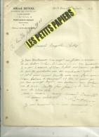 54 - Meurthe-et-moselle - PONT-ST-VINCENT - Facture DUVAL - Loueur De Voitures – 1911 - REF 235 - 1900 – 1949