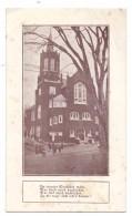 USA - MASSACHUSETTS - LAWRENCE, German Presbyterian Church, Unterschrift Rev. Richard Lange - Lawrence