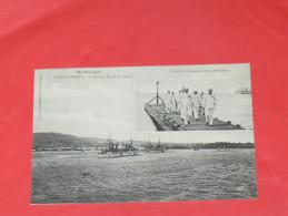 SAINT PIERRE /  MARTINIQUE   1902  /  FORT DE FRANCE /  L AMIRAL DEBARQUANT / L ESCADRE EN RADE   CIRC NON - Fort De France