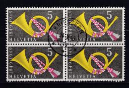 Heimat SG KRIESSERN 1949-05-24 Auf 4er Block Zu#291 - Suisse