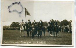 - Carte Photo - Souvenir Des Cosaques Du Kouban -  Non écrite, TTBE, Scans. - Regiments