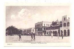 DJIBOUTI - La Place Menelick - Dschibuti