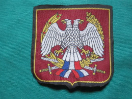 Yugoslavia,Serbia And Montenegro Army- Patches  7,5x7cm - Ecussons Tissu