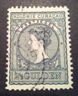Curacao / Nederland 1906 Koningin Wilhelmina Zegel Gestempeld (NVPH: 43) - Curaçao, Nederlandse Antillen, Aruba