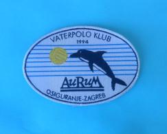 CROATIAN WATER POLO CLUB AURUM Patch Waterpolo Wasserball Dolphin Dauphin Delphin Delfin Delphin Delfino Ecusson Flicken - Swimming