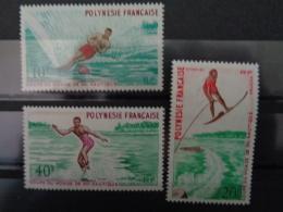 1971 - Y&T N° 86 à 88 ** - COUPE DU MONDE DE SKI NAUTIQUE