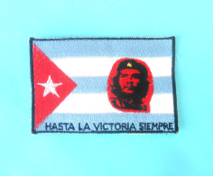 CHE GUEVARA - Argentina Marxist Communist ... Major Figure Of Cuba Revolution  * Old & Rare Original Patch Ecusson - Patches