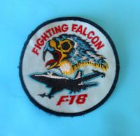F-16 FIGHTING FALCON ... United States U.S. Air Force Old Patch + Aviation Luftwaffe Aeronautica Militare Aviacion - Aviation