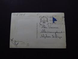 Postcard Netherlands Holland Scheveningen Kust Pier Den Haag The Hague 1956 - Cartes Postales