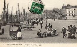 62 PAS DE CALAIS - BOULOGNE SUR MER Le Quai Gambetta - Boulogne Sur Mer