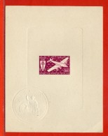 A.E.F PA N°22/28 EPREUVES DE LUXE AVION - Autres