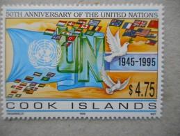 Y191 Cook-Inseln Islands 1437 Mnh 50 Jahre Years UNO - Aitutaki