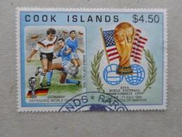 Y192 Cook-Inseln Islands 1403 Canc Soccer Fußball USA - Aitutaki
