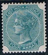 British India, 1866/7, # Y 27, MH - India (...-1947)