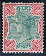 British India, 1892/9, # Y 48, MH - India (...-1947)