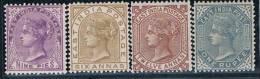 British India, 1874/9, # Y 29/32, MH - India (...-1947)