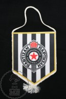 Sport Advertising  KK Partizan Basketball Team Club - Serbian Pennant/ Flag/ Fanion - Apparel, Souvenirs & Other