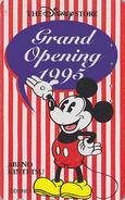 Télécarte Japon / 110-170156 - DISNEY STORE GO - MICKEY Abeno 1995 - Japan Phonecard Telefonkarte / 5000 EX - Disney