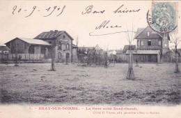 CPA 80 @ BRAY Sur SOMME @ La GARE (côté Nord Ouest) En 1905 (et Le Café De La Gare) Carte Rare !!! - Bray Sur Somme